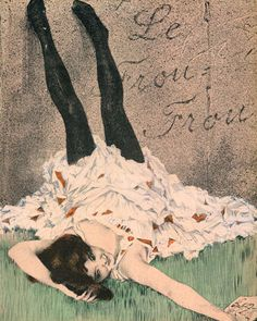 Kirchner - Girl In Black Stockings