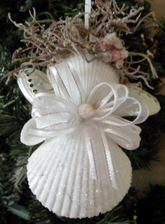 Angel Ornament by OceanBlooms on Etsy, $12.50