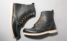 The Brothers Bray for Sebago Dockworker's Boot