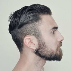 hoop earring men - Buscar con Google