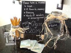 Graduation Memories, Advice and Blessing Jar