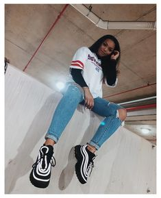 tomboy outfits for school ; Tomboy Fashion, Look Fashion, Streetwear Fashion, Teen Fashion, Fashion Outfits, Black Girl Fashion, Hipster Fashion, Fashion Clothes, Womens Fashion