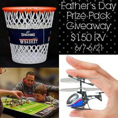 Father's Day Prize Pack Giveaway 2014