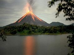 Arenal Volcano, province of Alajuela, canton of San Carlos, and district of La Fortuna, Costa Rica.