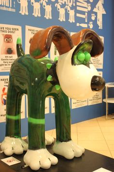 the green gromit- gromits of bristol