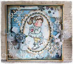 Ice Tilda, Sweet Christmas dreams collection, Magnolia stamps