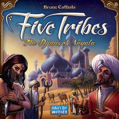 Five Tribes | Board Game 2–4 Players  Community: 2–4 — Best: none 40–80 Min Playing Time Age: 13+  Community: 12+ Weight: 2.89 / 5