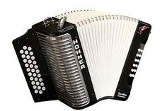 NEW Hohner Corona II Steve Jordan Rockordeon Signature Model Accordion - Black, GCF (Sol) with FREE Gig Bag, Straps, Instructional Booklet - Made in Germany - Free Ship USA - Cheap Worldwide Shipping!  http://stores.ebay.com/music-for-all-03   http://www.musicforall.biz/