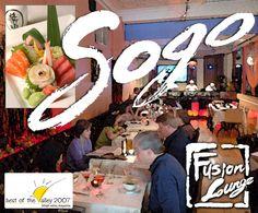 Sogo Fusion Lounge, Easton PA
