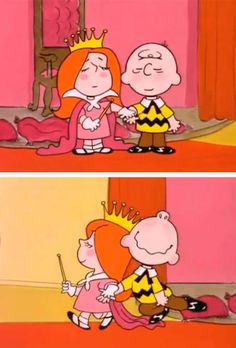 The Little Red-Haired Girl, It's Your First Kiss, Charlie Brown (1977) <3
