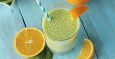 Orange Greensicle Smoothie-cut down on amount of oranges and use extract to cut down on sugar
