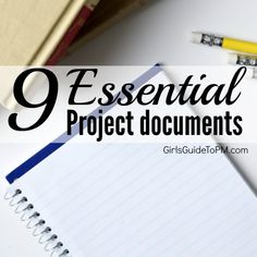 Less admin means more time leading your team and doing the work on the project, which is more important than producing onerous paperwork. Stick with these nine documents you'll be able to control your project without too much bureaucracy.
