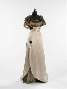 1914, France Evening dress by Callot Soeurs Silk, metal MET Museum