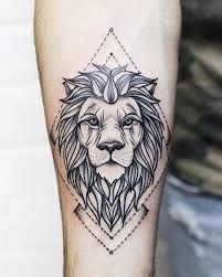 Znalezione obrazy dla zapytania lion tattoo