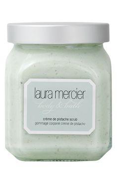 Laura Mercier 'Crème de Pistache' Scrub available at #Nordstrom  I love this scrub!  Smells amazing!
