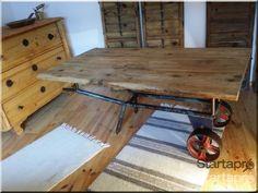 Loft asztal eladó, Asztal, szék - Startapro.hu Industrial Loft, Industrial Design, Rustic Furniture, Furniture Design, Loft Design, Wabi Sabi, Vintage Designs, Shabby Chic, Tables
