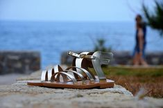 Nikos Shoes Sandals by NikosShoesSandals on Etsy Gladiator Sandals, Leather Sandals, Shoes Sandals, Natural Leather, Beautiful Shoes, Favorite Color, Unique Jewelry, Handmade Leather, Bags