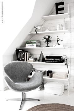 urbnite — Swan Chair by Arne Jacobsen
