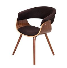 Mid Century Retro Modern Vintage Molded Plywood Brown Accent Chair with Wood ..., http://www.amazon.com/dp/B00N3JDO5I/ref=cm_sw_r_pi_awdm_h2NDvb071WMC6