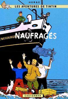 Les Aventures de Tintin - Album Imaginaire - Naufragés