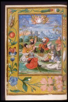 Réseau des Bibliothèques de l'Université de Liège; Livre d'heures (ms. 3591, f° 31v)  Pays-Bas, XVIe s.