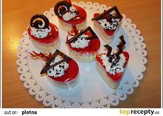 Semifreda jen tak recept - TopRecepty.cz Dessert Recipes, Desserts, Mini Cakes, Birthday Candles, Panna Cotta, Waffles, Cheesecake, Cookies, Cream