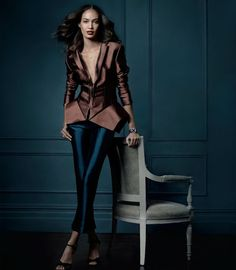 The Gossip Wrap-Up!: Ad Campaign: Tiffany & Co. Fall 2013 Featuring Joan Smalls and Amber Valletta