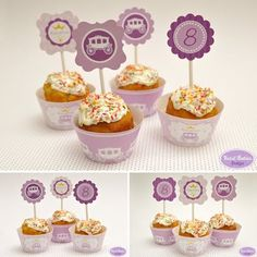 Princess Printable Birthday Party Collection by Kids&Babies Design