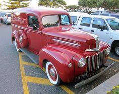 Ford panel van, 1946