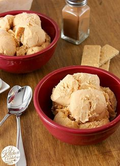 Whip up some Pumpkin Pie Cheesecake Ice Cream Recipe this weekend that the whole family will love!