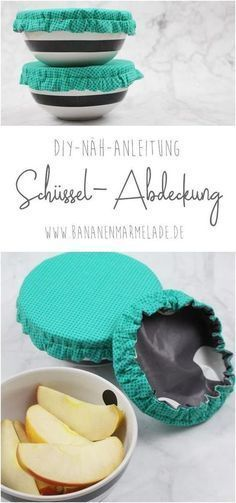 instructions for sewing a bowl hood and putting it on cling film . - nähen DIY instructions for sewing a bowl hood and putting it on cling film . - nähen - DIY instructions for sewing a bowl hood and putting it on cling film . Sewing Projects For Beginners, Cool Diy Projects, Sewing Hacks, Sewing Tutorials, Sewing Tips, Easy Crafts, Diy And Crafts, Upcycled Crafts, Tapas