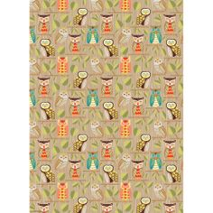 Owls Wrapping Paper - Roll Wrap