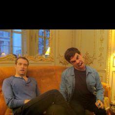 Asa & Matthew ! Weird, Electric, Funny, Fictional Characters, Outlander, Ha Ha, Hilarious, Entertaining, Fantasy Characters