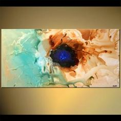 Abstract painting - The Pearl