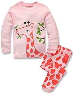 Little Mermaid Baby Kids Toddler Girls Sleepwear Long Sleeve Pajamas Set 12M-7T