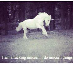 I do unicorn things