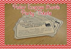 Twas' the Week Before Christmas: Polar Express Tickets