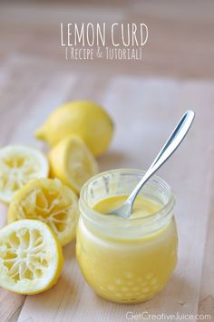 Lemon Curd Recipe & tutorial