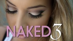 Quick tutorial using Urban Decay's Naked 3 palette. Make sure to check out my blog for a full review and swatch photos of this incredible palette! Link is be...