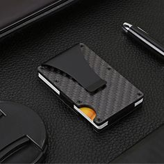 RFID Blocking Credit Card Wallet Rfid Wallet, Purse Wallet, Credit Card Wallet, Credit Cards, Money Clip Wallet, Minimalist Wallet, Carbon Fiber, Card Holder, Packaging