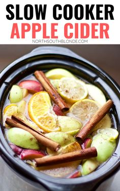 Warm and comforting apple cider made with natural sweetener and filled with antioxidants and vitamins. Not to mention, it smells incredible! Healthy Apple Cider   Fall Beverage   Slow Cooker Beverages   Crock Pot   Autumn Recipe   Thanksgiving Recipe   Thanksgiving Drinks   Holiday Drink   Hot Apple Cider   Paleo Apple Cider   Sweets   Dessert Drink  