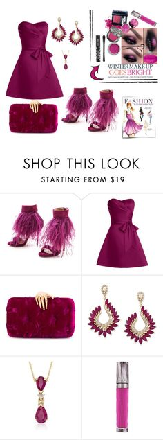 """""""HIGH ON HEELS"""" by giselsimon ❤ liked on Polyvore featuring Paul Andrew, Benedetta Bruzziches, Effy Jewelry, Celestine, Ross-Simons and Urban Decay"""