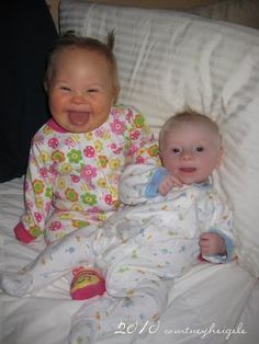 Pudge and Biggie -- adoption blog, adoptive family with two sweet kiddos who have down syndrome