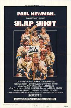 Slapshot....great sports movie....Paul Newman