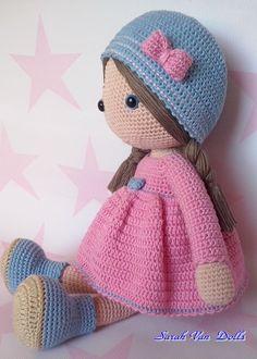 Mesmerizing Crochet an Amigurumi Rabbit Ideas. Lovely Crochet an Amigurumi Rabbit Ideas. Diy Crafts Crochet, Crochet Gifts, Crochet Projects, Crochet Doll Clothes, Knitted Dolls, Crochet Dolls Free Patterns, Knit Patterns, Amigurumi Doll, Doll Amigurumi Free Pattern