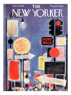 The New Yorker Cover - April 8, 1961