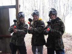 Paintballing ~GIRL Power!
