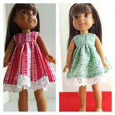 A personal favorite from my Etsy shop https://www.etsy.com/listing/476579600/14-and-145-inch-doll-clothing-dresses-2