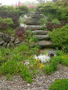 Charmant Secret Garden Steps