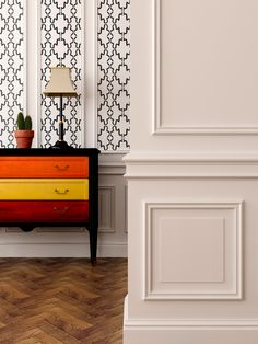 Make your entryway sing. Tyles Agadir in black. http://tyles.co/collections/traditional/products/tyles-agadir-in-black